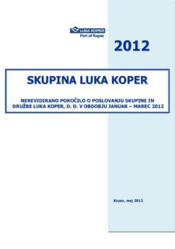 Borza JANUAR - MAREC 2012_OBJAVLJENA 28.5.2012