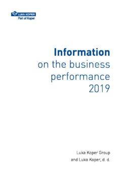 Informacija o poslovanju 2019_za objavo_ANG