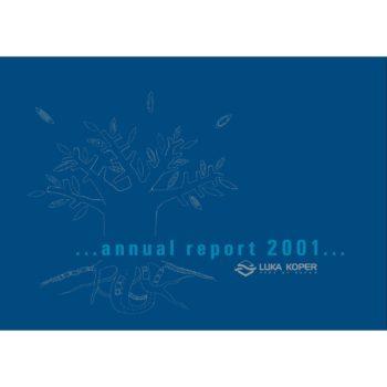 Luka Koper - annual report 2001