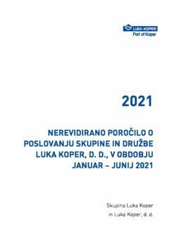 Poročilo JAN - JUN 2021